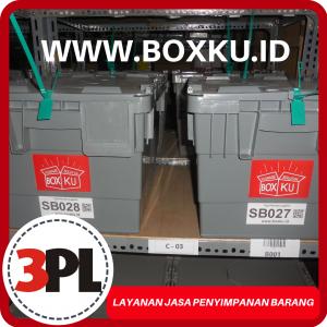 Jasa Penyimpanan Barang Boxku di 3PL Surabaya